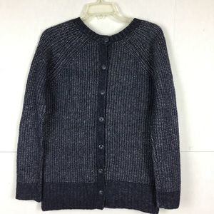 Andrea Jovine button back sweater cardigan